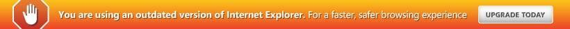 You are using an outdated browser. For a faster, safer browsing experience, upgrade for free today.
